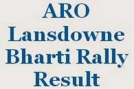 ARO Lansdowne Bharti Rally Result
