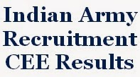 Army Results, Written Exam Result, CEE Result
