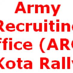 ARO Kota, ARO Kota Rajasthan Army Rally
